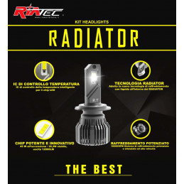 Kit Led Radiator H8 H9 H11...