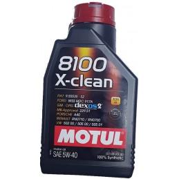 OLIO MOTUL 8100 X-CLEAN C3...