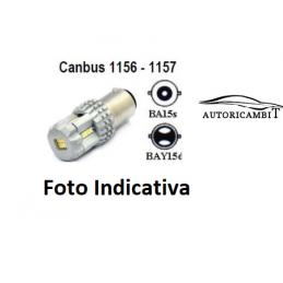 LUCE LED 1157 BAY15D 12 SMD...