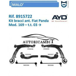 copy of Kit Bracci Alfa 159