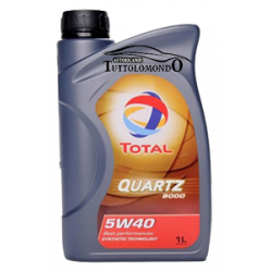 Olio Total 5W40 Quartz 9000