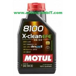 OLIO MOTUL 8100 X-CLEAN EFE...