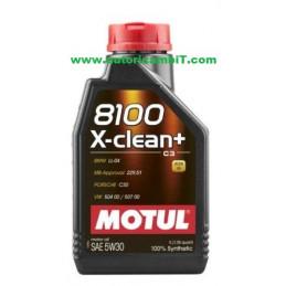 OLIO MOTUL 8100 X-CLEAN+...