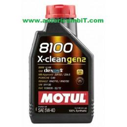 OLIO MOTUL 8100 X-CLEAN...